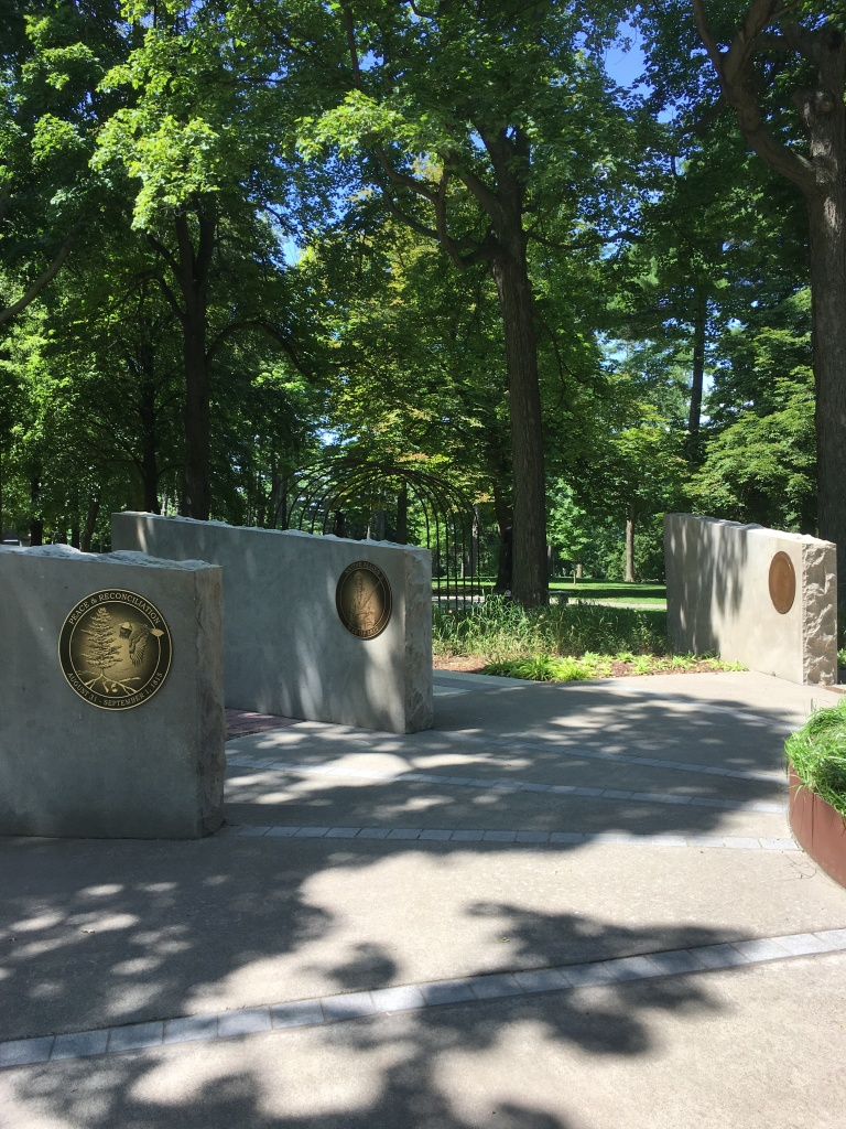 Landscape of Nations Memorial at Queenston Heights Park