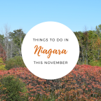Things to do in Niagara this November