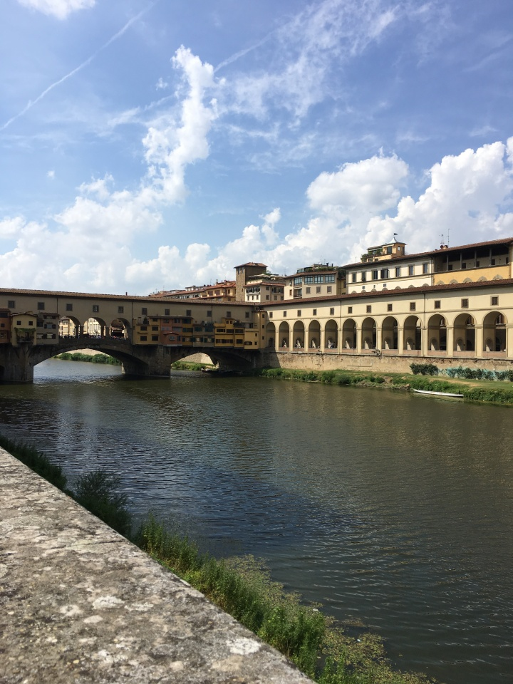 Florence Italy along the Arno River