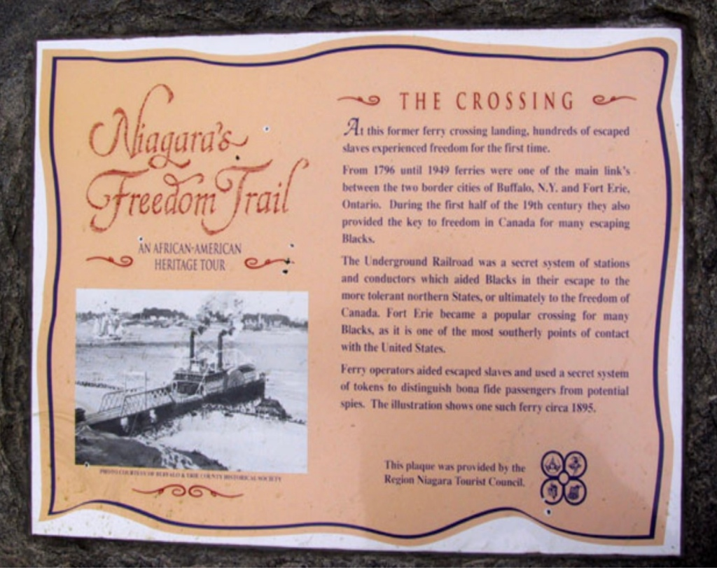 The Story of Josiah Henson and his escape to Niagara