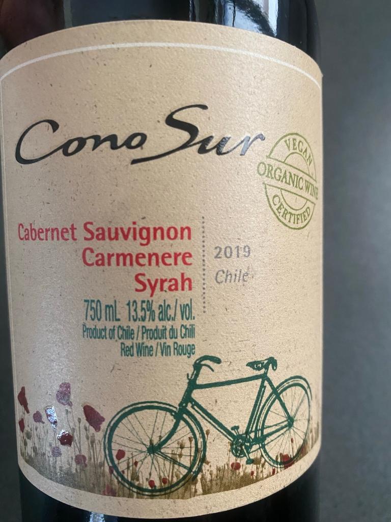 Cono Sur Cabernet Sauvignon Blend 2019 a heavenly wine from Colchagua Chile. Read the story.