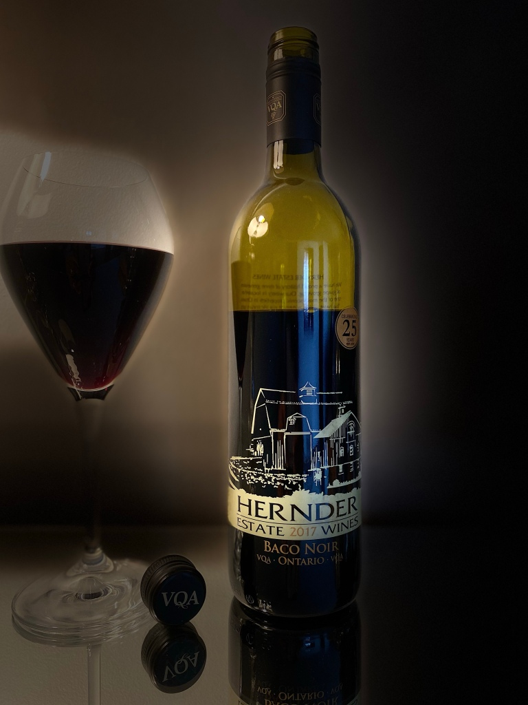 Hernder Winery Baco Noir a wine story and a dance
