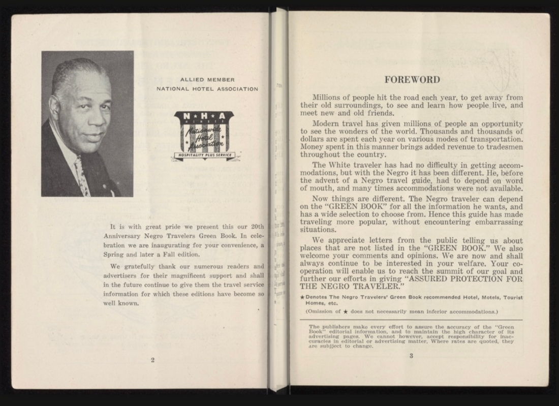 The Green Book a Travel Guide from the Mid Twentieth Century
