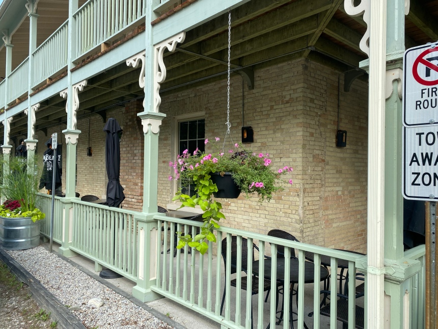 The Little Inn of Bayfield, Ontario the perfect romance of history and luxury